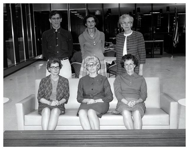 South Portland Public Library Staff, 1967