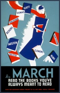 WPA March Reading Poster