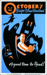 WPA October Reading Poster