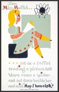 WPA Miss Muffet Poster